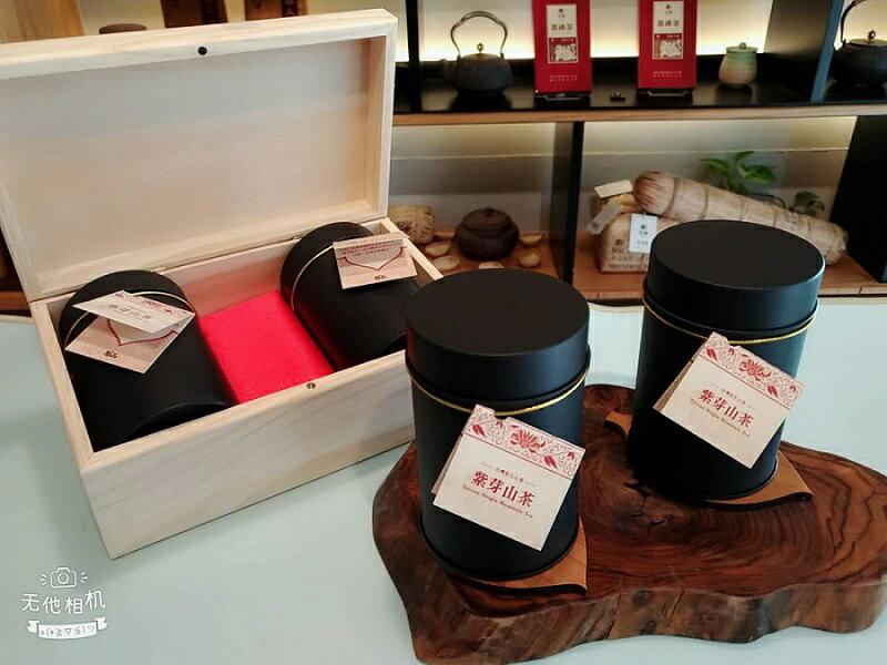 紫芽山茶禮盒● 原生種山茶● 溫潤甘甜● 絕對珍貴