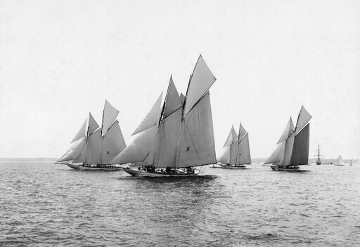 AmericaS Cup 1901 Nvarious Yachts During The Eleventh International Race For The AmericaS Cup In 1901 Poster Print by (24 x 36) d0dc5d8d248147c92776bab2bab610d6