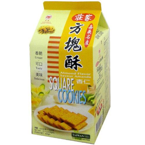 莊家 方塊酥-杏仁 380g