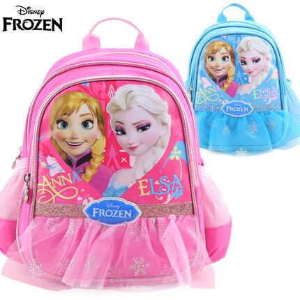 正版迪士尼 冰雪奇緣 幼兒園書包 寶寶後背包3-6歲適合