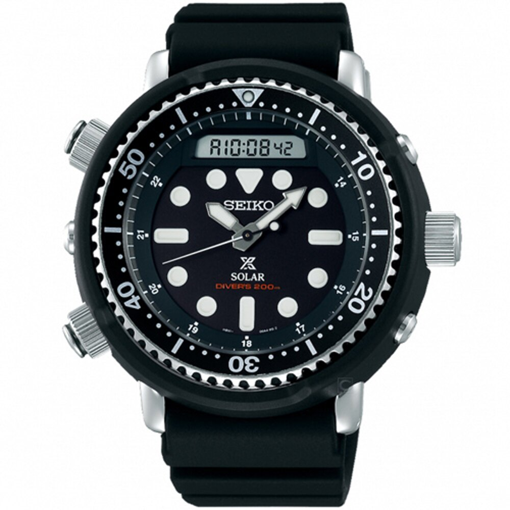 SEIKO精工PROSPEX DIVER SCUBA太陽能復刻手錶 H851-00A0D SNJ025P1