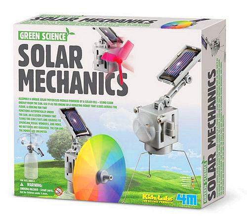 【4M 創意 DIY】Green Science-Solar Mechanics太陽能機械組