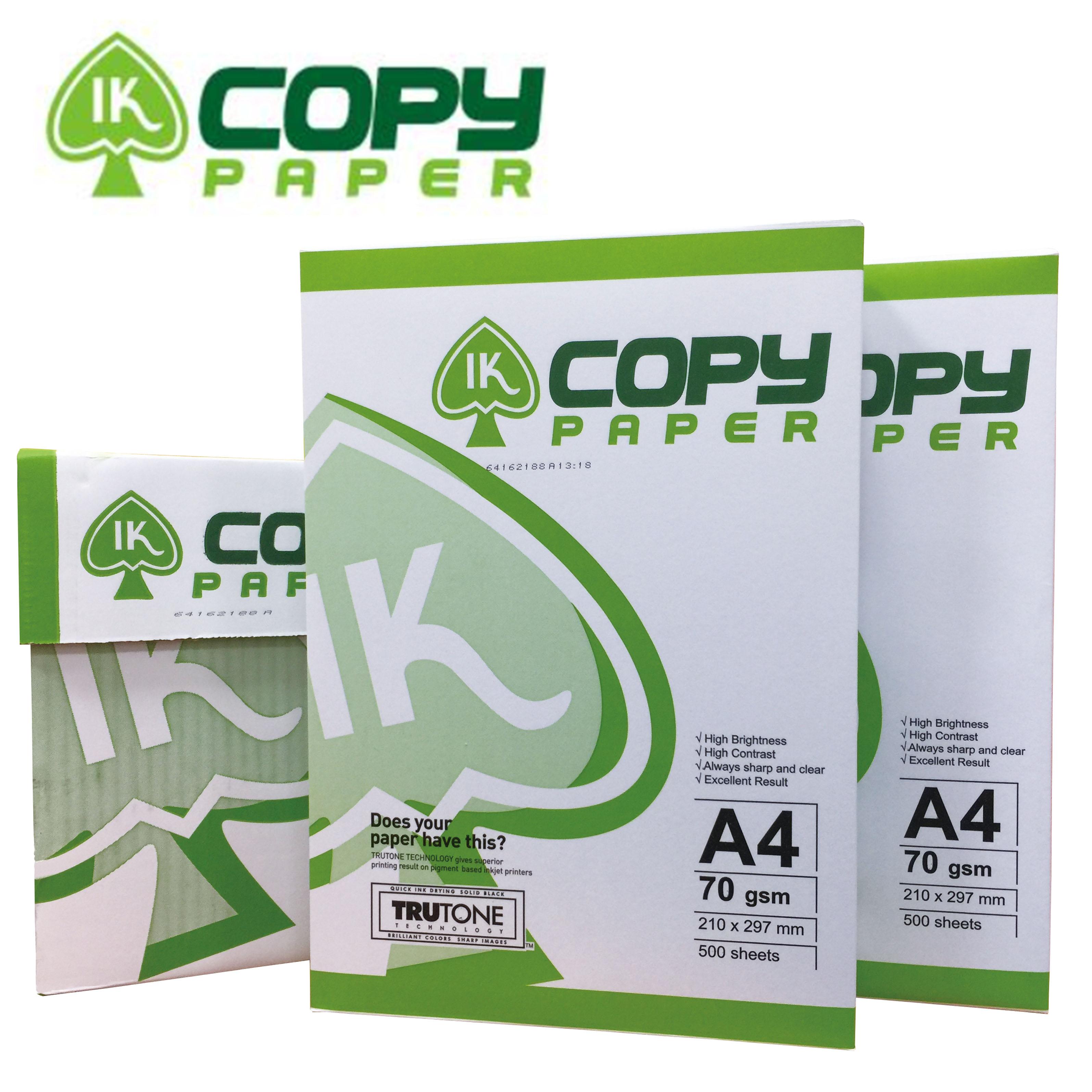 【IK-COPY】 A4 影印紙 70磅 10包入/箱