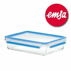 德國EMSA玻璃保鮮盒 ^#513921  2.0L