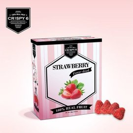 Crispy6旅行者六號 英國皇室時尚果乾-草莓