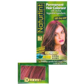 Naturtint 赫本美舖 天然草本染髮劑 金赤褐棕色 7M (含運)