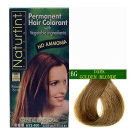 Naturtint 赫本美舖 天然草本染髮劑 深金棕色 6G (含運)