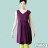 【Milida,全店七折免運】-夏季洋裝-無袖款-百搭V領百摺款 7