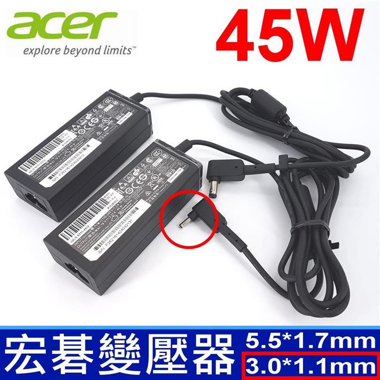 筆電達人 ACER 45W 原廠規格 變壓器 Aspire V33-331 V3-331-P0QW V3-331-P4TE V3-371 V3-371-56R5 V3-371-596F V3-3...