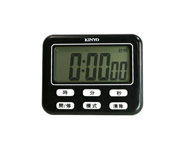 計時器KINYOTC-10電子式計時器數字鐘數字鐘耐嘉時鐘計數器