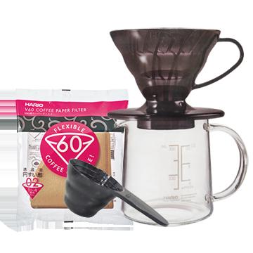 雲林古坑咖啡:【Hario】V60咖啡濾杯壺組,咖啡初新者最佳選擇