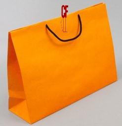 紙袋2K~20入~橙愛瑪~棉把手 pbag~019