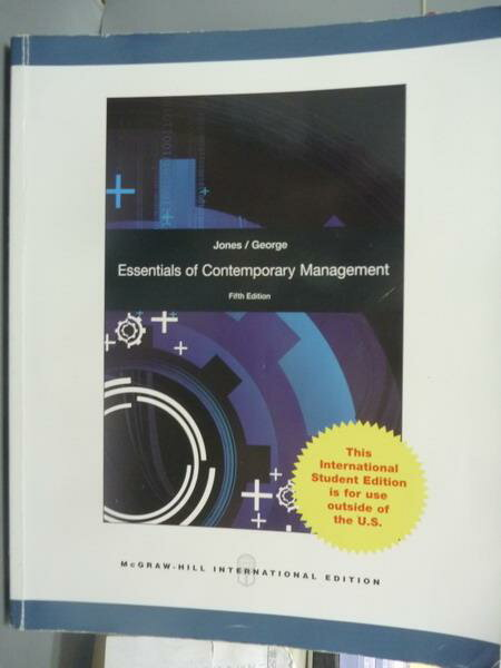 ~書寶 書T6/大學商學_QEF~Essentials of Contemporary M