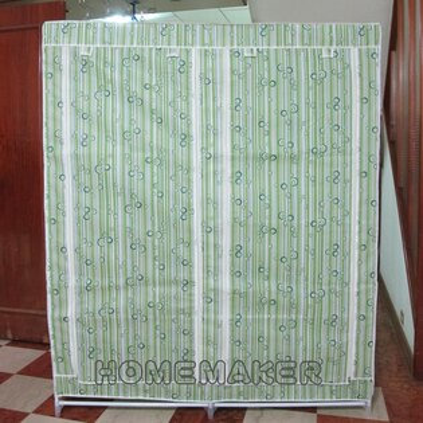 家的新衣:衣櫃(綠)_JY-0704(買一送一,可選其他花色)
