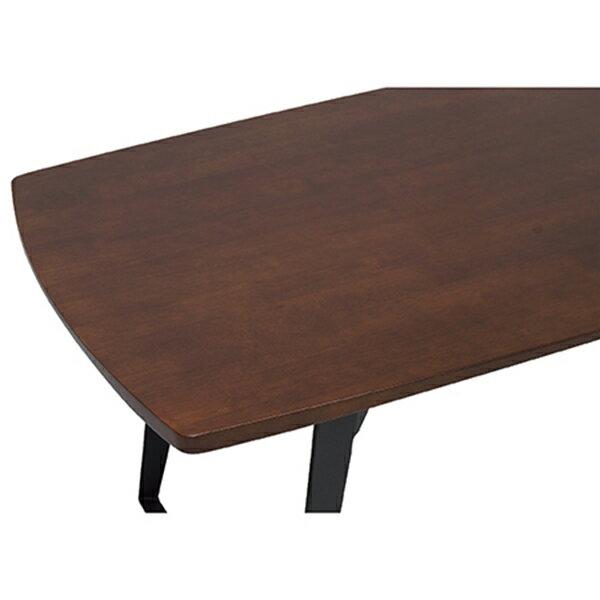 工業風實木餐桌 1