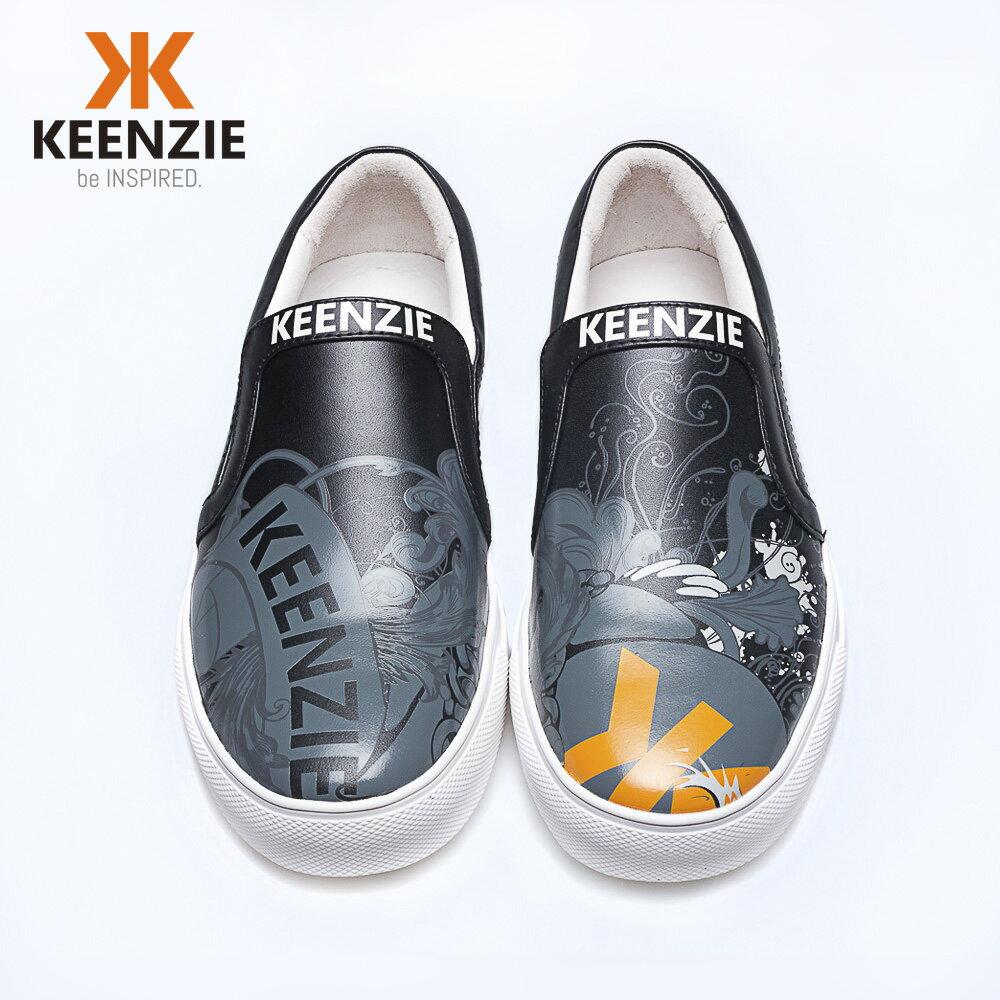【澳洲潮牌KEENZIE井致#118】限量潮鞋 海外預購款 全真皮懶人鞋 1