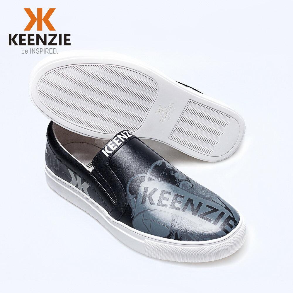 【澳洲潮牌KEENZIE井致#118】限量潮鞋 海外預購款 全真皮懶人鞋 3