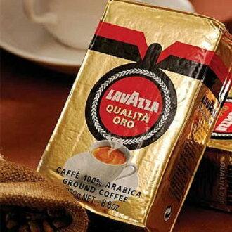 【含運【義大利LAVAZZA 金牌咖啡粉】Qualita Oro咖啡粉 250g*2 金牌咖啡粉