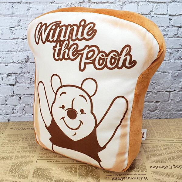 小熊維尼 午睡枕 抱枕 靠墊 Disney 迪士尼正版授權 吐司造型靠墊【蕾寶】
