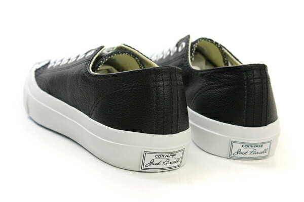 CONVERSE Jack Purcell Leather 休閒鞋 皮革 低筒 開口笑 黑色 男女鞋 UNISEX 1S962 no943 2