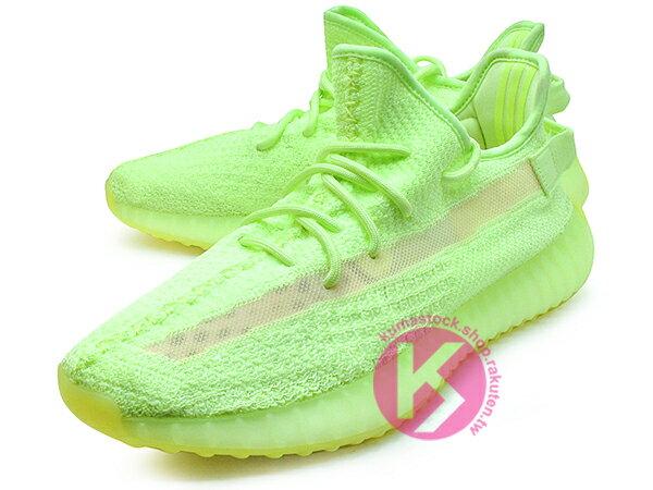 2019 最新 超限量 嘻哈歌手 Kanye West 設計 adidas YEEZY BOOST 350 V2 GID GLOW IN THE DARK 螢光綠 夜光底 PRIMEKNIT 飛織鞋面 ZEBRA SPLV-350 (EG5293) ! 1