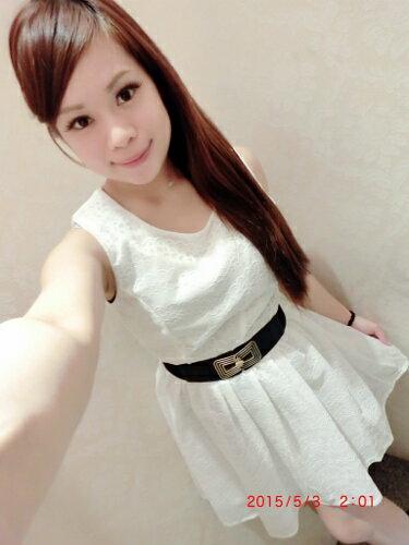 Doublet 日本vivi  韓國空運直送 東大門 韓國代購  春夏流行新款無袖蕾絲壓紋洋裝