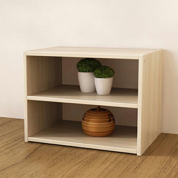 組合櫃C款收納櫃書櫃書架展示置物櫃床頭櫃【YV9717】HappyLife
