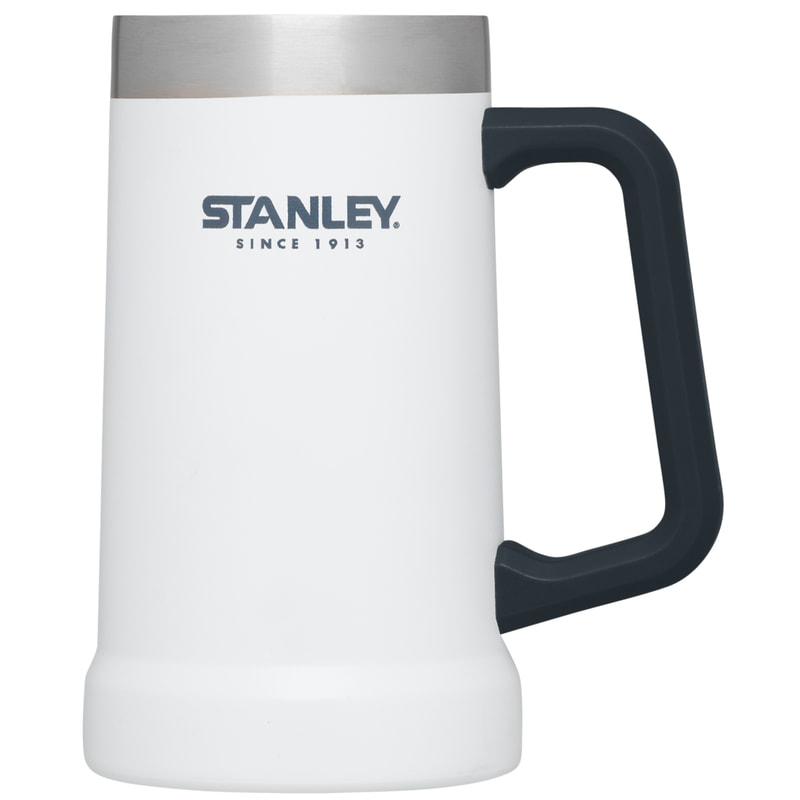 【【蘋果戶外】】Stanley 1002874 白 700ml 美國 冒險系列 真空啤酒杯 酷冰杯保溫杯保冰保冷 10-02874