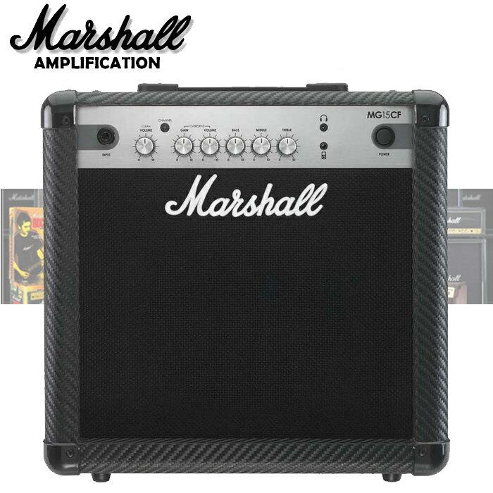 【非凡樂器】『英國名牌 Marshall MG-15CF』經典電吉他音箱(MG15CF) 原廠全新未拆封