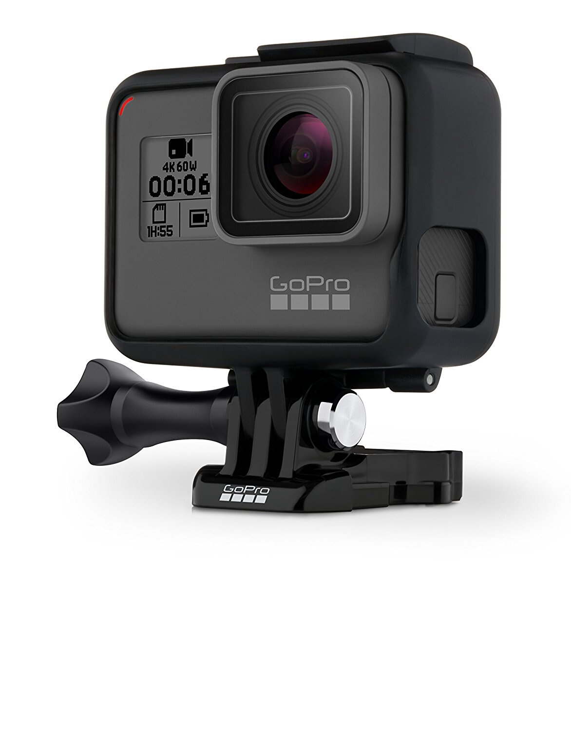 GoPro HERO6 Black Ultra HD Action Camera - 4K 3