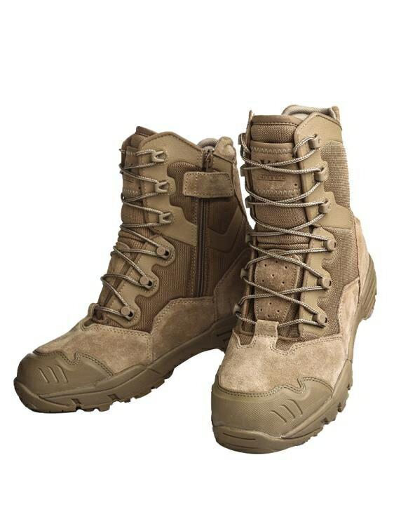 戰術鞋 軍靴男冬季高幫超輕07作戰靴減震511陸戰術特種兵沙漠作訓登山鞋 清涼一夏钜惠