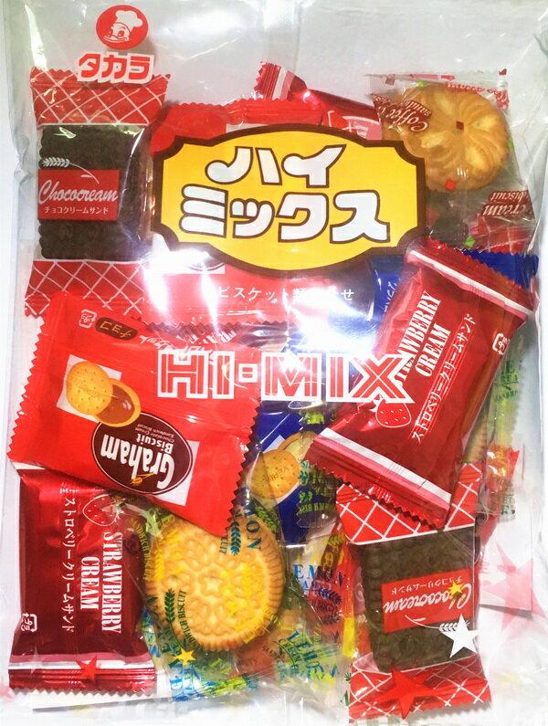 【takara】寳製菓HI-MIX什錦夾心餅乾18枚入 230g 日本進口零食 3.18-4 / 7店休 暫停出貨 2