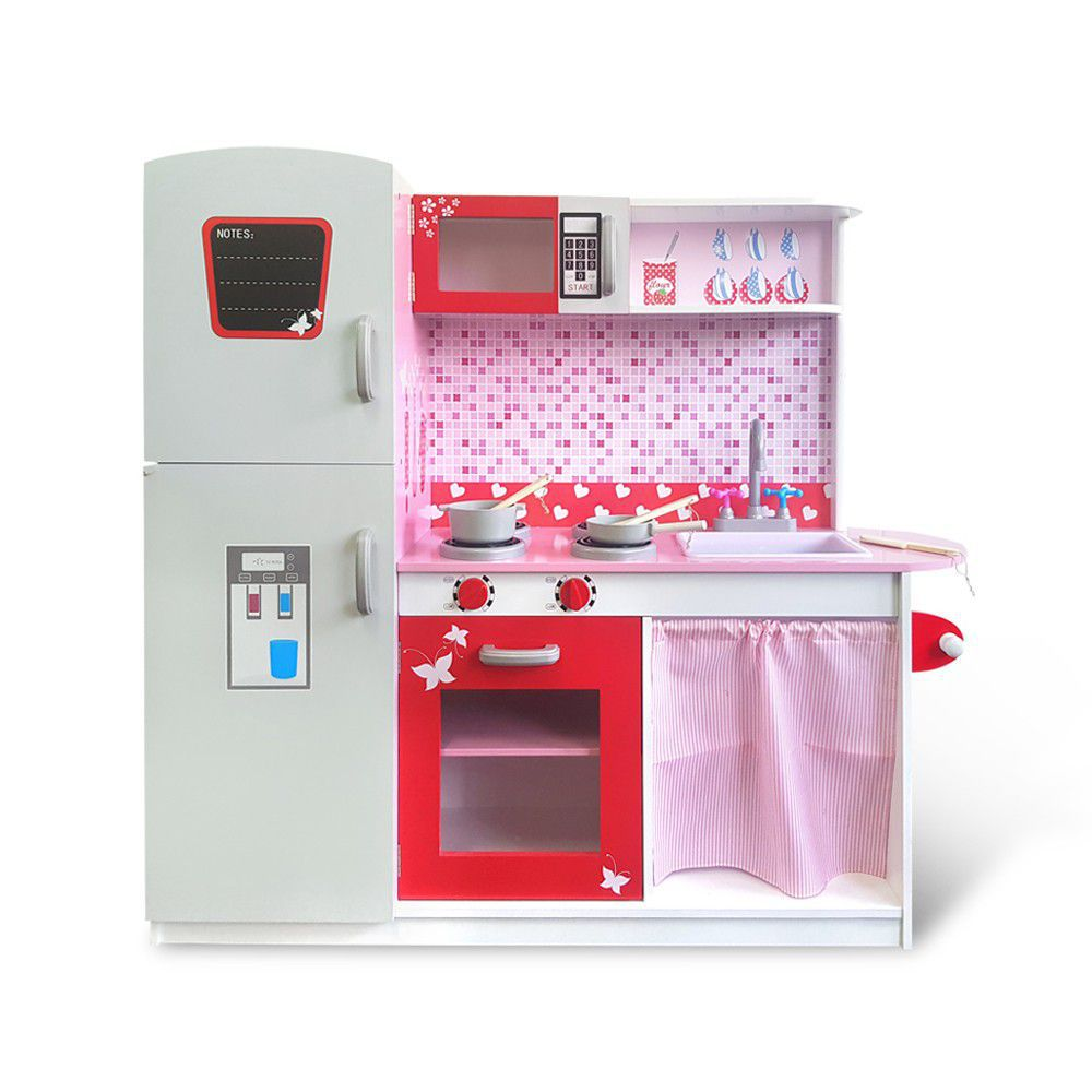 kikimmy 蜜糖時光木製廚房玩具組 K330【德芳保健藥妝】
