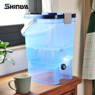 日本製 Shinwa伸和 可攜式分享水壺19L