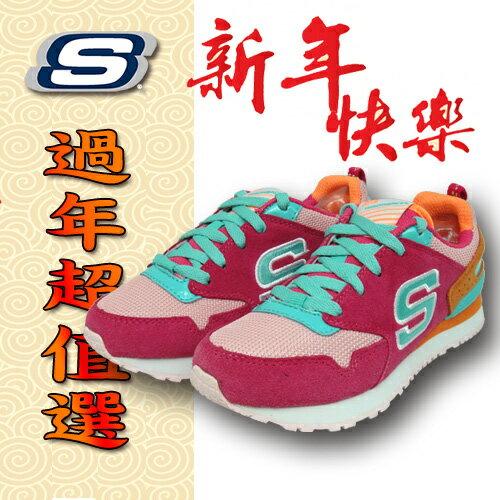 SKECHERS 女童鞋 記憶鞋墊 , 84200LHPMT 粉紅; 蝴蝶魚戶外用品