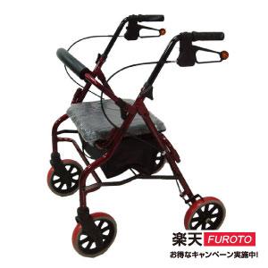 四輪助步車