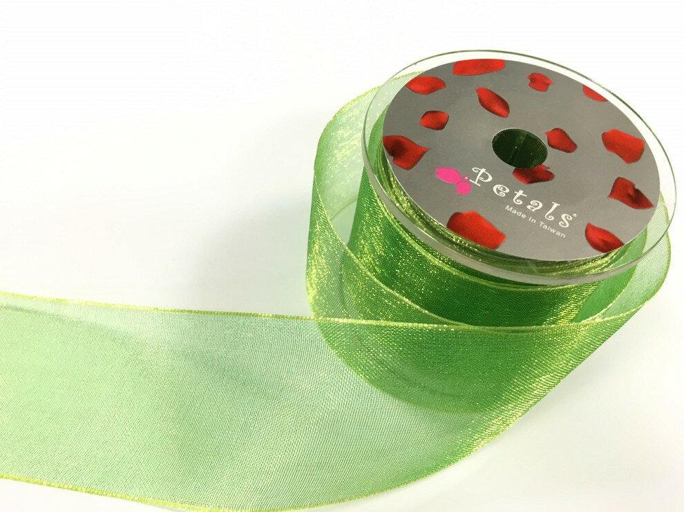 Petals緞帶刺繡-38mm雙色雪紗(十色) 0