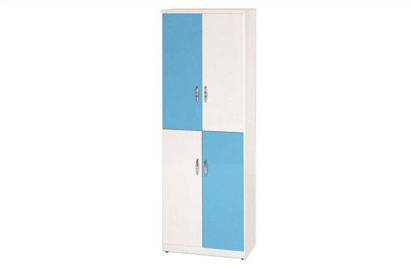 石川家居:【石川家居】886-06(藍白色)鞋櫃(CT-329)#訂製預購款式#環保塑鋼P無毒防霉易清潔