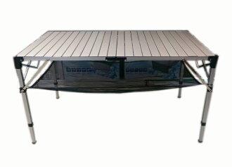 【露營趣】中和 GO SPORT 92117 高級6人鋁捲桌 蛋捲桌 休閒桌 摺疊桌 非TAB-980H 速可搭