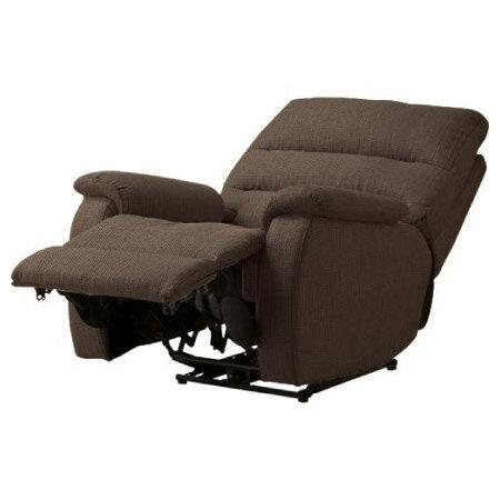 ◎(OUTLET)布質1人用電動可躺式沙發 BELIEVER2 YL-DBR NITORI宜得利家居 2