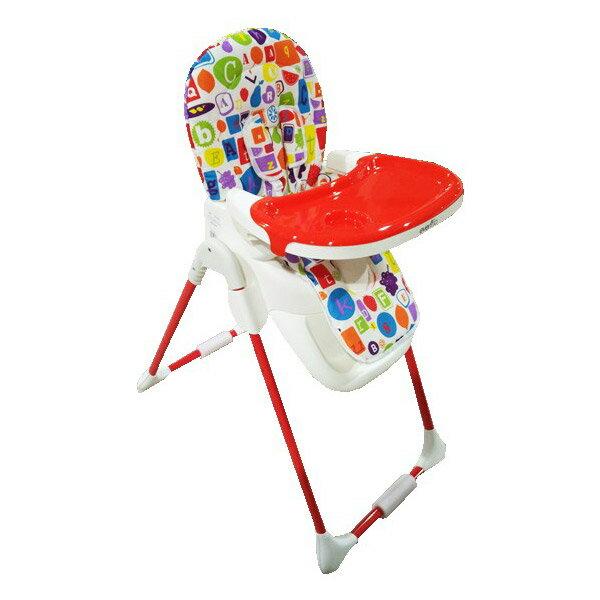 evenflo多段高度調整兒童餐椅(Y5806)-橘紅【悅兒園婦幼生活館】