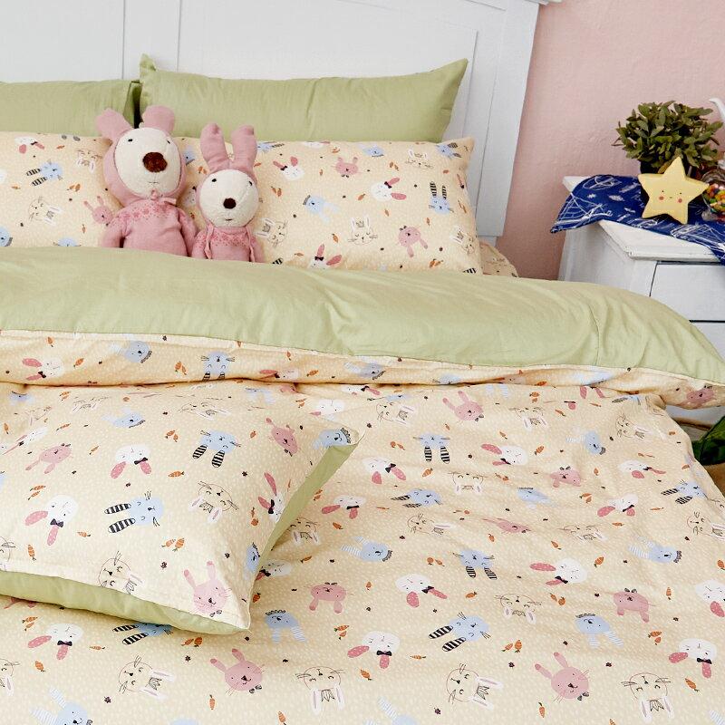 床包  /  雙人-100%精梳棉【妮妮公主】含兩件枕套 戀家小舖 好窩生活節  台灣製 5