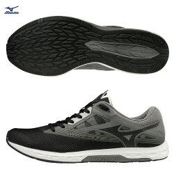 WAVE SONIC 2 一般型男款馬拉松鞋 U1GD193409(黑)【美津濃MIZUNO】