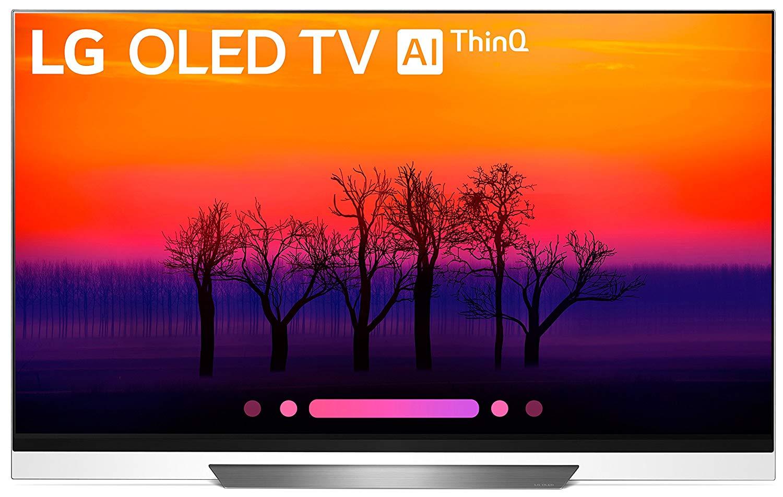 17da3c7d507c LG Electronics OLED65E8PUA 65-Inch 4K Ultra HD Smart OLED TV (2018 Model)