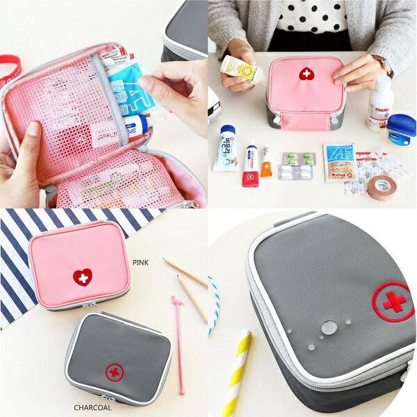 旅行醫藥包 外出藥袋 戶外急救包 出差旅行 隨身小藥包 便攜醫藥包【RB418】