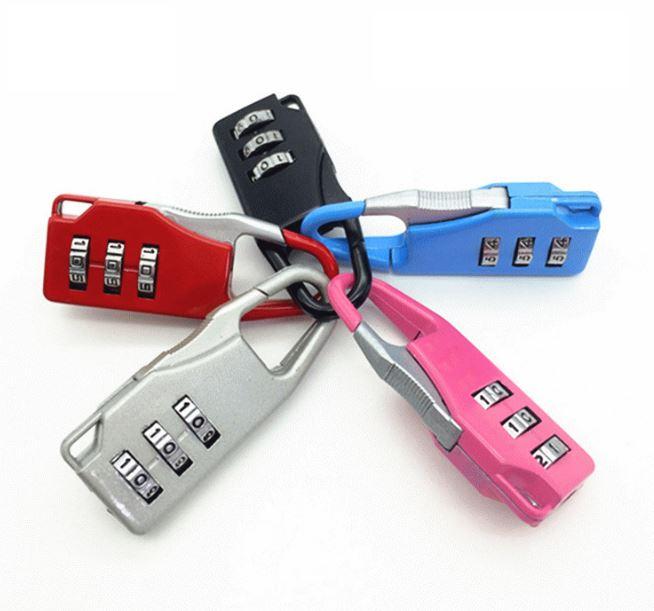 【省錢博士】密碼鎖 / 私人防盜利器 / 隨機款單入