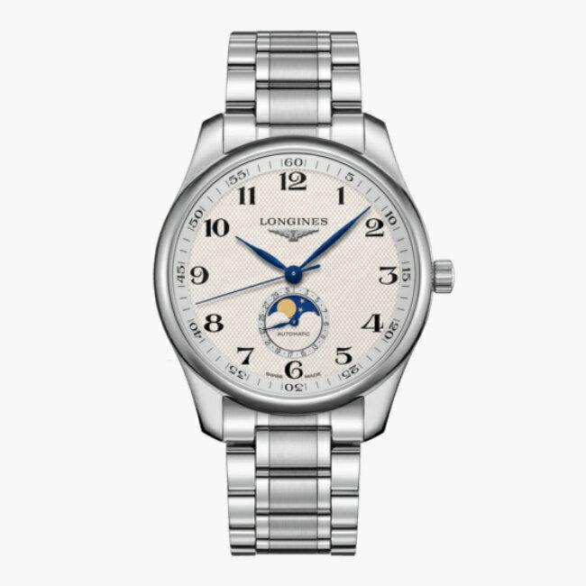 LONGINES 浪琴 L29194786 名匠系列月相紳士腕錶 42mm