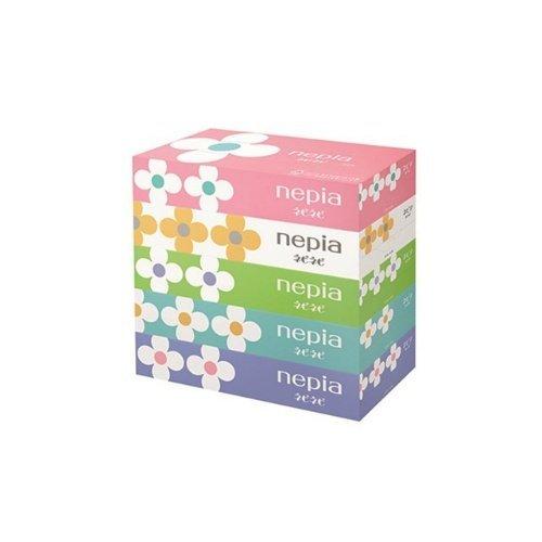 日本【Nepia】盒裝紙巾 5盒入
