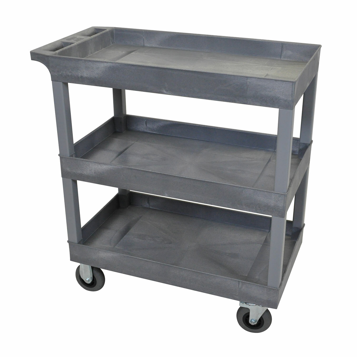 Factory Utility Cart: Factory Authorized Outlet: Luxor EC111SP5-G 32 X 18-Inch