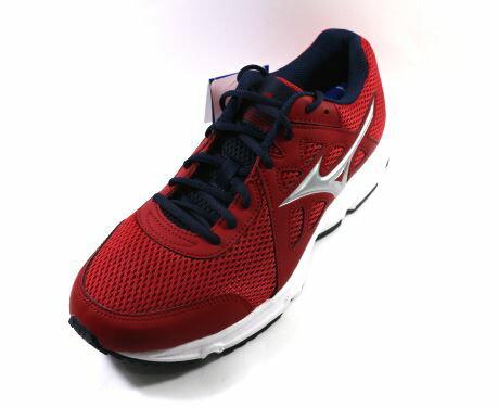 MIZUNO 美津濃 (男) SPARK 2 慢跑鞋 一般型 基礎鞋款- K1GA170304(紅X銀)[陽光樂活]【12/1-31 單筆滿2000結帳輸入序號 XmasGift-outdoor 再折..